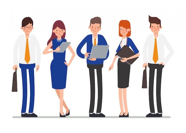 Gruppo di lavoro di squadra lavoro in giornata di lavoro.