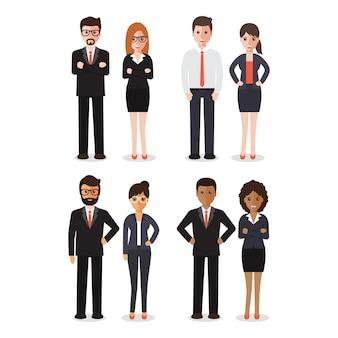 Gruppo di persone che lavorano