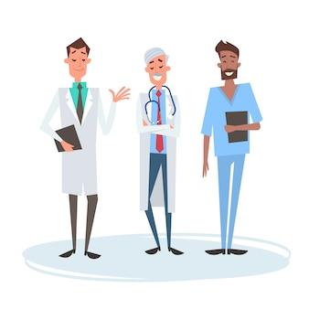 Gruppo medial medici team clinics hospital