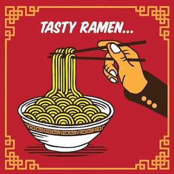 Gustoso ramen noodle