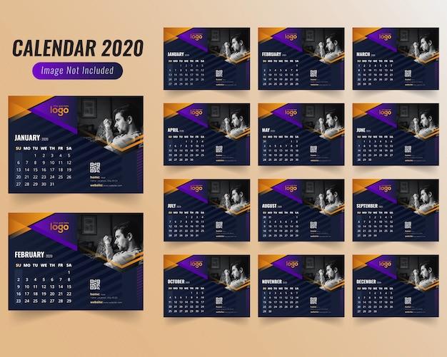 Gym o gymnasium calendar 2020