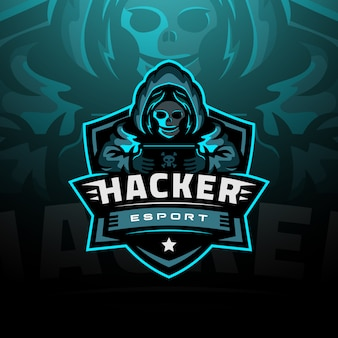 Hacker logo esport