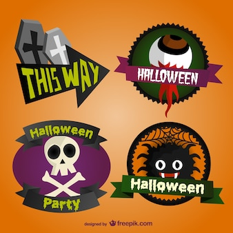 Halloween adesivi collezione