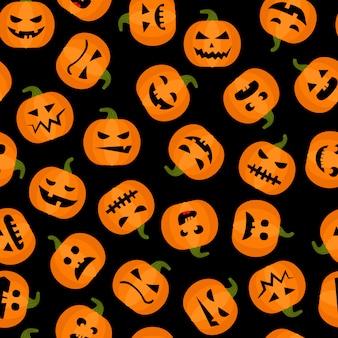 Halloween adorabile sfondo senza soluzione di continuità
