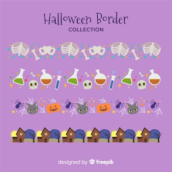 Halloween border collectio