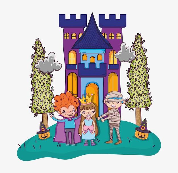Halloween e cartoni animati per bambini