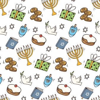 Hanukkah modello senza soluzione di continuità