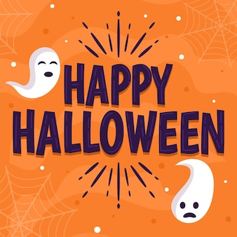 Happy halloween - tema lettering