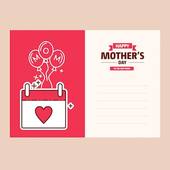Happy mothers's day banner di vendita