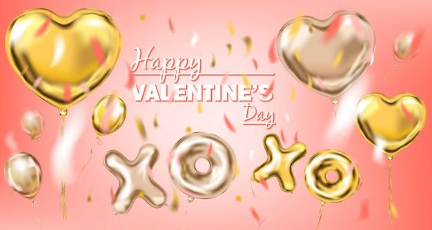 Happy valentine banner