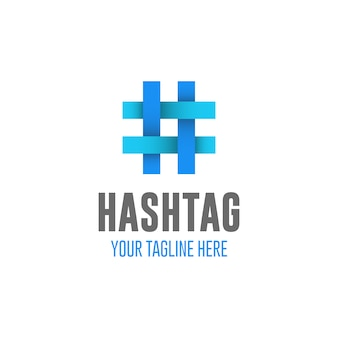 Hastag logo design