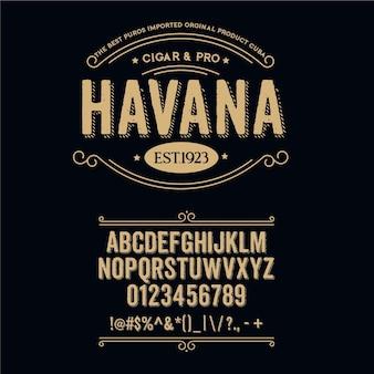 Havanatypeface