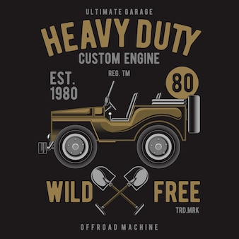 Heavy duty off road