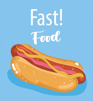 Hot dog fast food