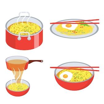 Hot spaghetti istantanei