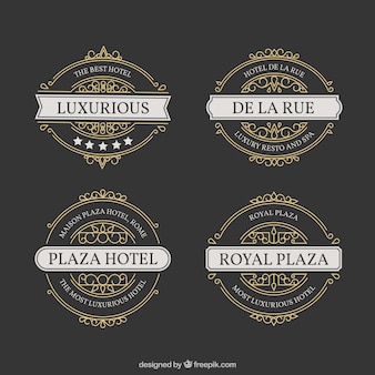 Hotel di lusso labels collection
