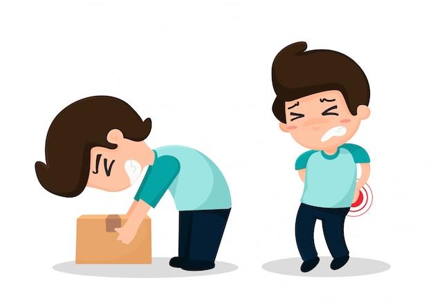 I dipendenti hanno incidenti dal lavoro