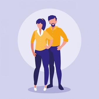 I genitori coppia personaggi avatar