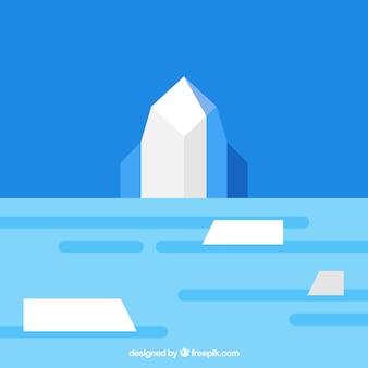 Iceberg vettoriale