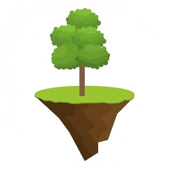 Icona albero design bonsai