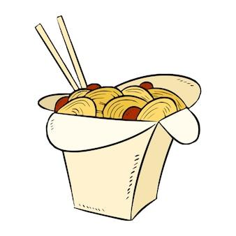 Icona casella wok