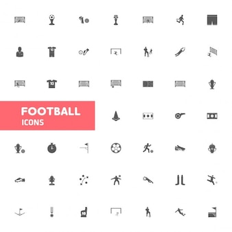 Icona del calcio set