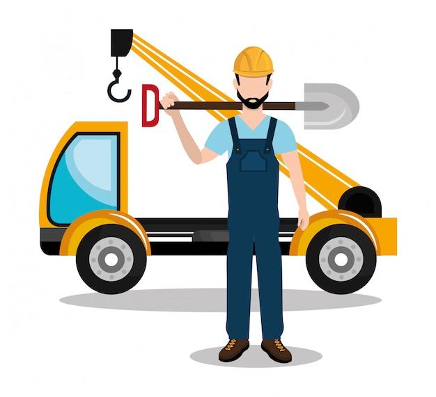 Icona del costruttore costruttore costruttore