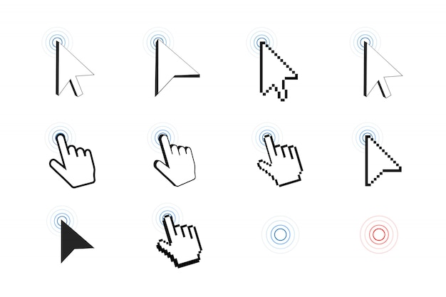 Icona del cursore pixel