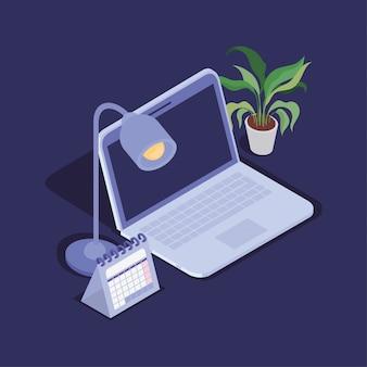 Icona del dispositivo tecnologia computer portatile