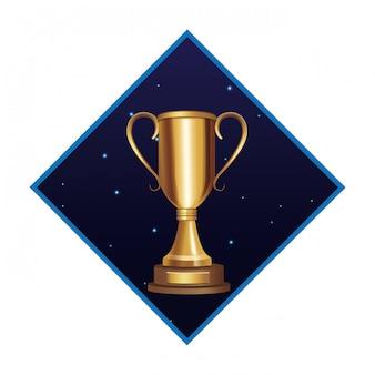 Icona del grande trofeo