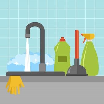 Icona del lavello da cucina