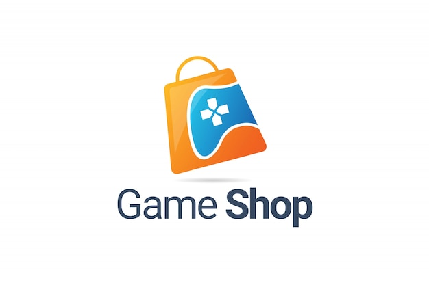 Icona del logo di game shop