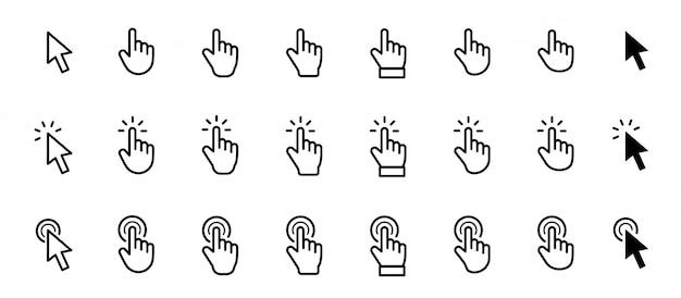 Icona del mouse cursore puntatore.