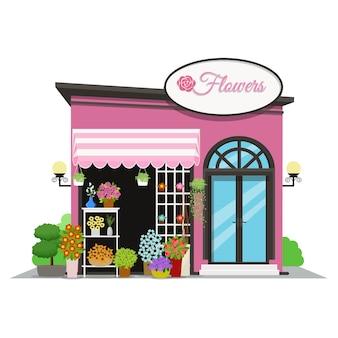 Icona del negozio di fiori.