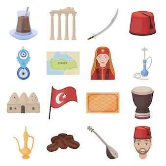 Icona del paese turchia
