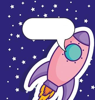 Icona del razzo spaziale