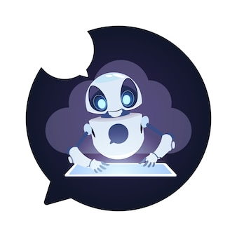 Icona del robot chatbot