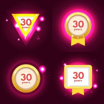 Icona dell'anniversario 30