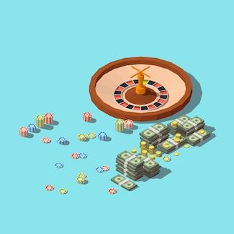 Icona dell'app di gioco del casinò.