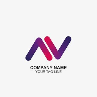 Icona dell'illustrazione delle frecce progettazione del modello di logo