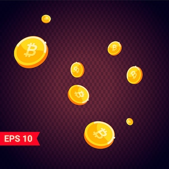 Icona della moneta con le ombre
