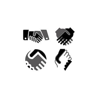 Icona della stretta di mano