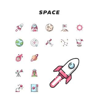 Icona dello spazio