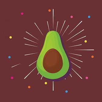 Icona di avocado