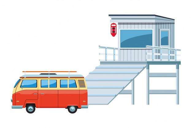 Icona di camper