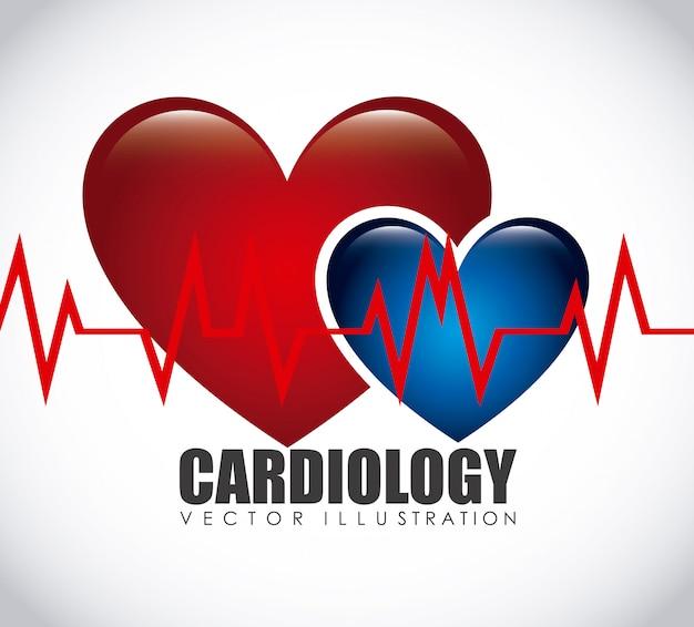 Icona di cardiologia