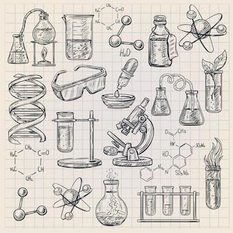 Icona di chimica