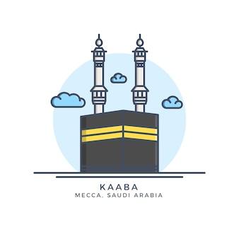 Icona di kaaba