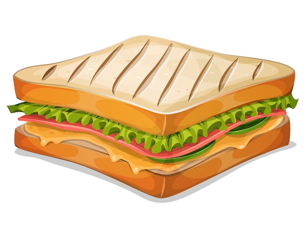 Icona di panino francese