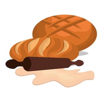 Icona di prodotti da forno deliziosi